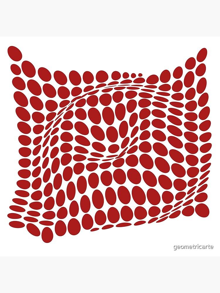 COME INSIDE (RED S/F) de geometricarte