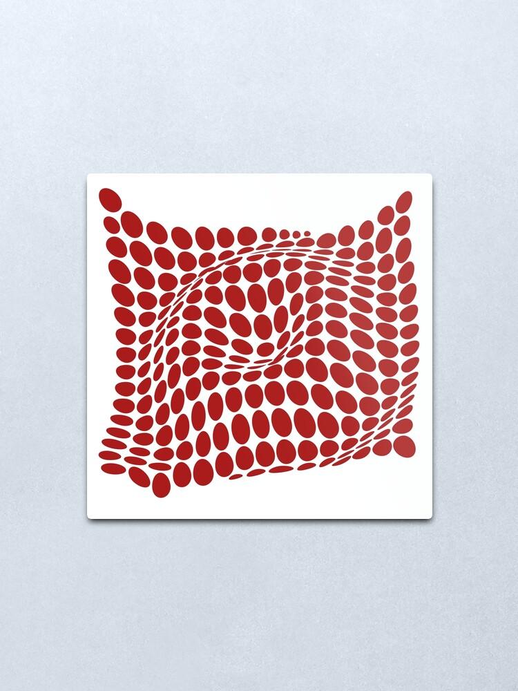 Vista alternativa de Lámina metálica COME INSIDE (RED S/F)