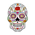 Day Of The Dead Sugar Skull by Adam Regester