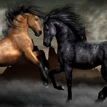 Good And Bad Horses Head To Head by Staytrendy