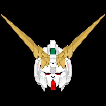 RX-0 Unicorn Gundam by innergeekdesign