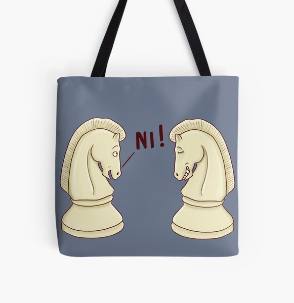 Ni! All Over Print Tote Bag