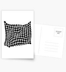 COME INSIDE (BLACK) Postales