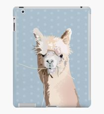 Llama lloves you iPad Case/Skin