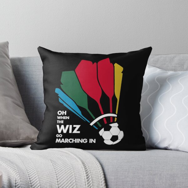SHUTTLE-SOCCER Throw Pillow