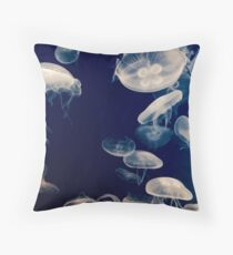 Jellyfs Throw Pillow