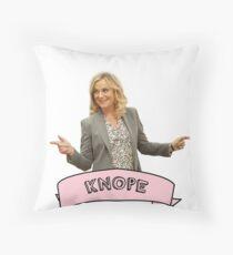 Knope Throw Pillow