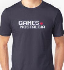 GamesNostalgia Slim Fit T-Shirt