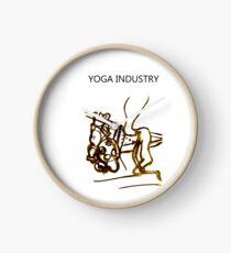 Yoga Industry Clock
