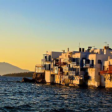 Mykonos island by petrosdeme