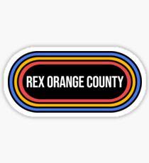 rex orange county Sticker