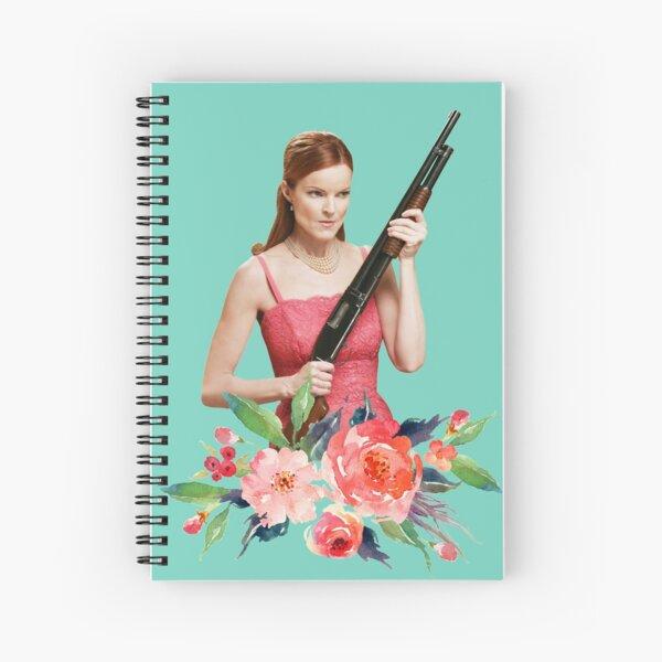 bree van de kamp Spiral Notebook