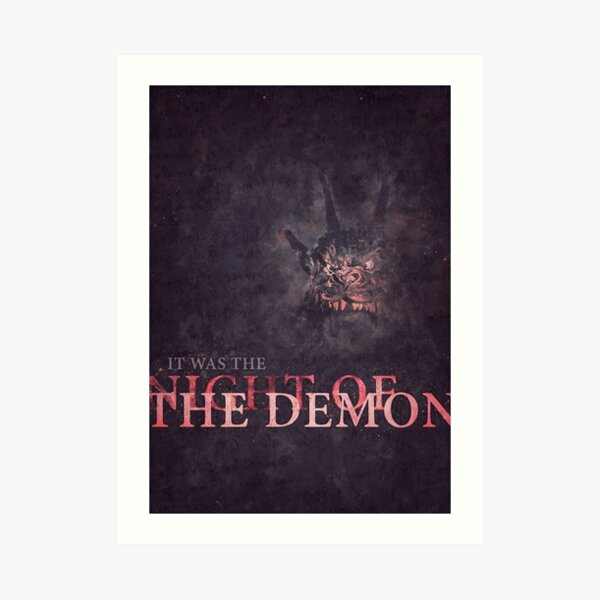 Night of the Demon Art Print