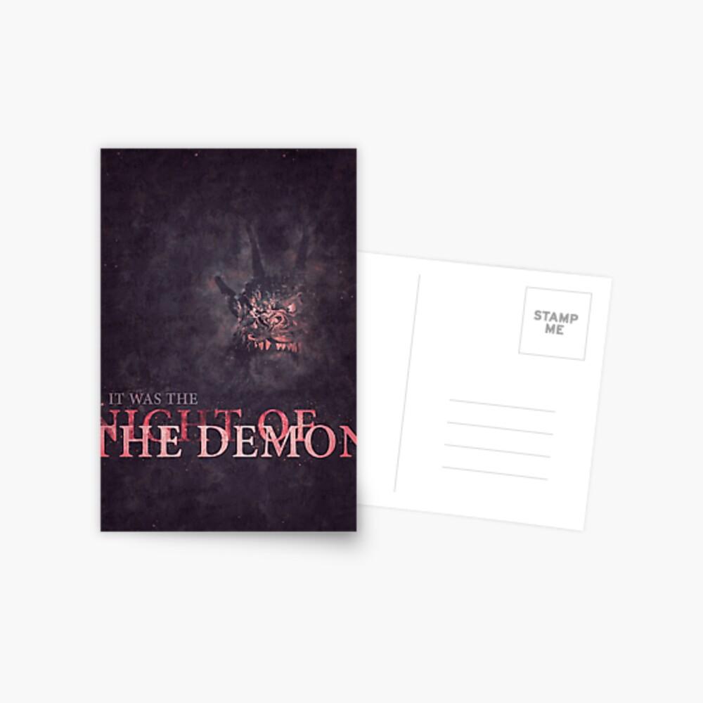Night of the Demon Postcard