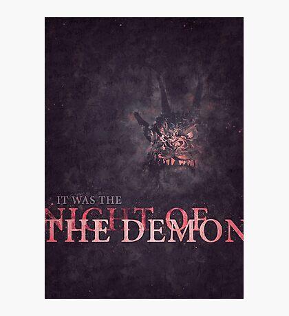 Night of the Demon Photographic Print