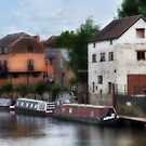 The Avon at Tewkesbury by Peter Hammer