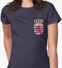 Luxembourg, coat of arms Women's Fitted T-Shirt