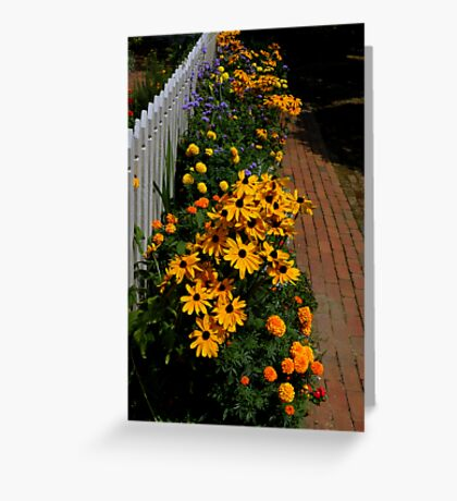 The Gardens Of Williamsburg ~ Part Three Greeting Card