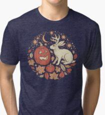 Halloween Friends | Autumn Palette Tri-blend T-Shirt