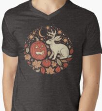 Halloween Friends | Autumn Palette Men's V-Neck T-Shirt