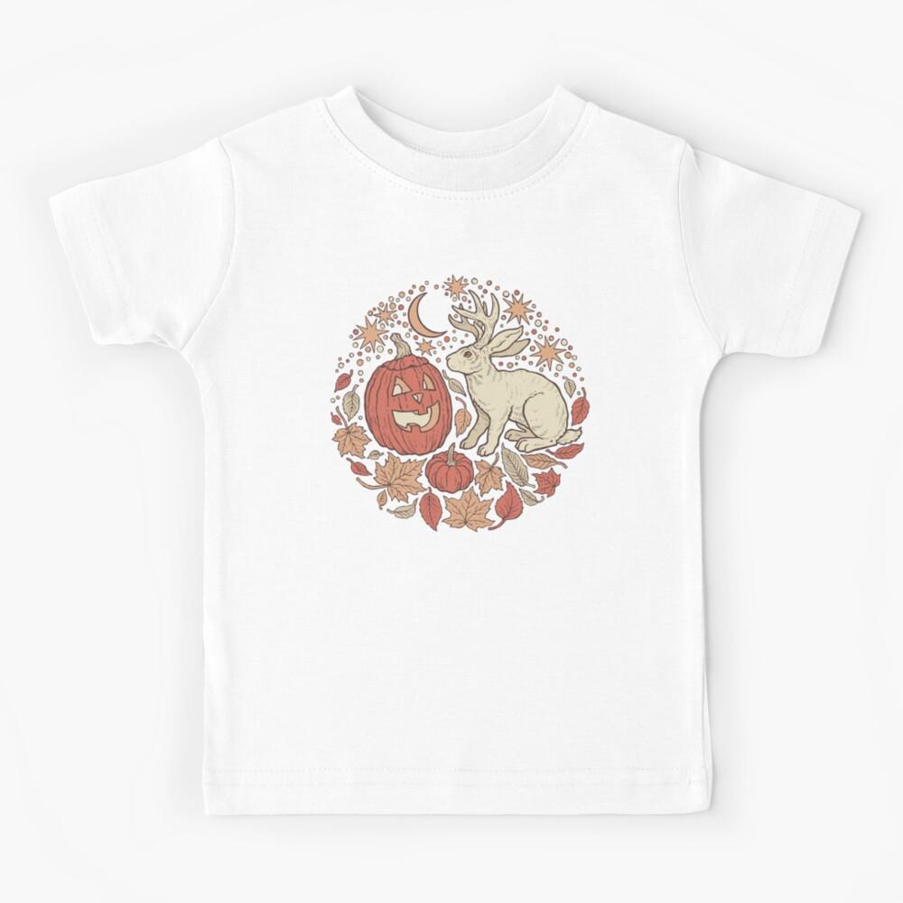 Halloween Friends | Autumn Palette Kids T-Shirt