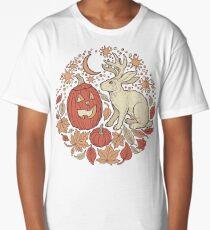 Halloween Friends | Autumn Palette Long T-Shirt
