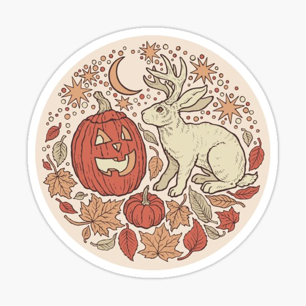 Halloween Friends | Autumn Palette Sticker