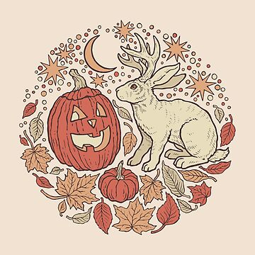 Halloween Friends | Autumn Palette by OMEGAFAUNA