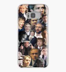 Martin Freeman Collage Samsung Galaxy Case/Skin