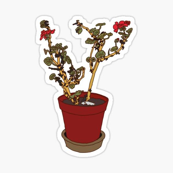 Geranium Sticker