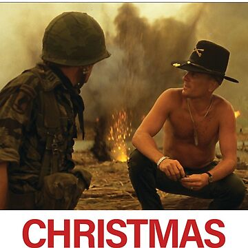 Apocalypse Now - Smell of Christmas in the morning greeting card by redman17