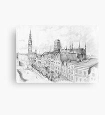 Gdansk panorama Canvas Print