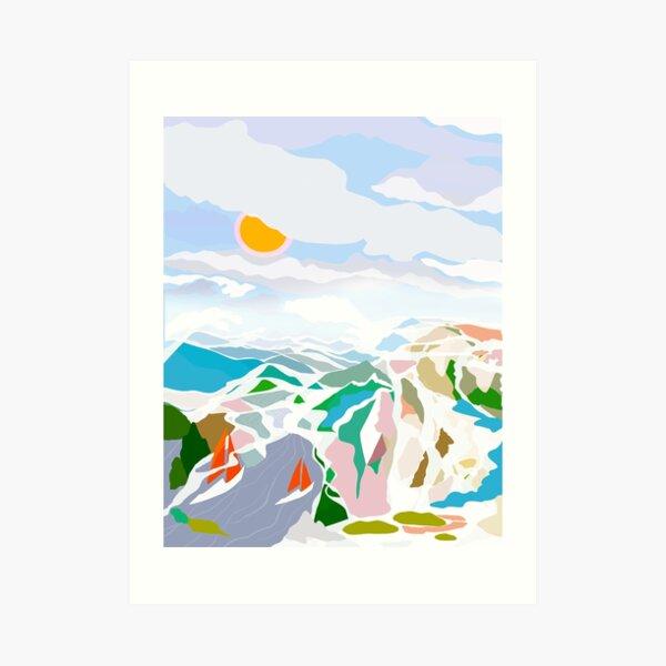 Seeufer Kunstdruck
