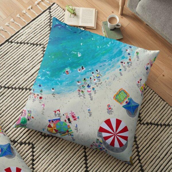 Secret Cove by Stephanie Fuller Floor Pillow