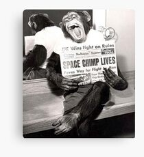Space Chimp Canvas Print