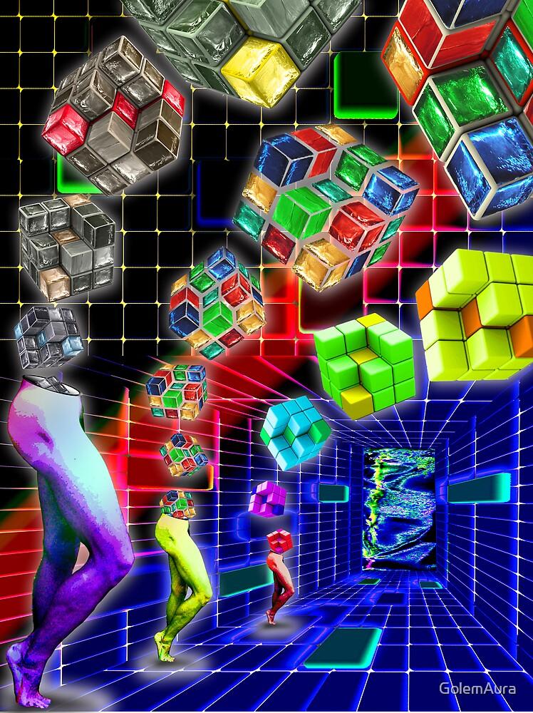 Rubik's Revenge by GolemAura