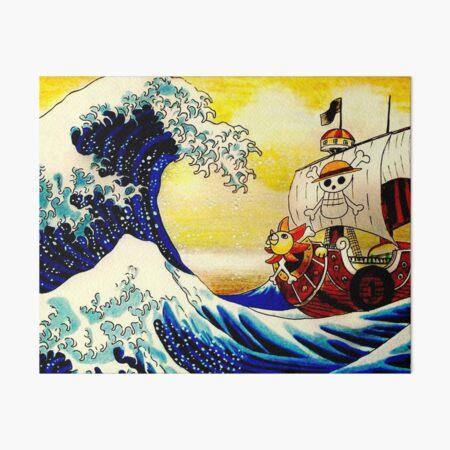La grande vague de One Piece Impression rigide