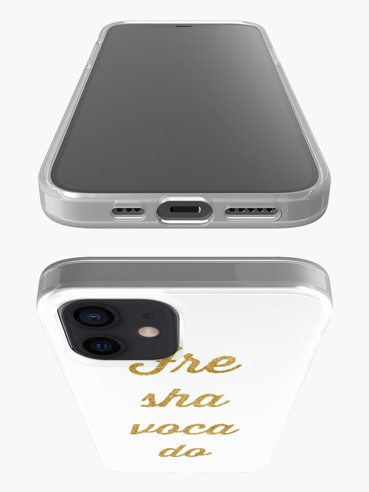 Alternate view of Fre sha voca do iPhone Case & Cover