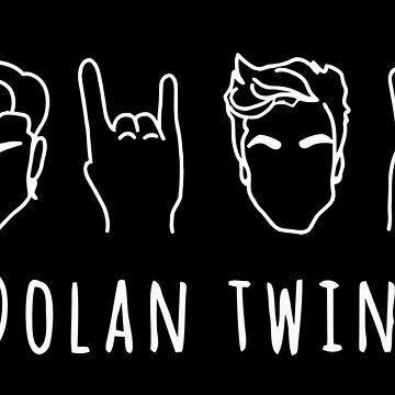 Dolan Twins - Black by nvagkeseb