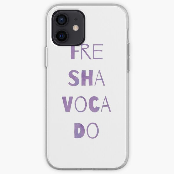 Fre sha voca do iPhone Soft Case