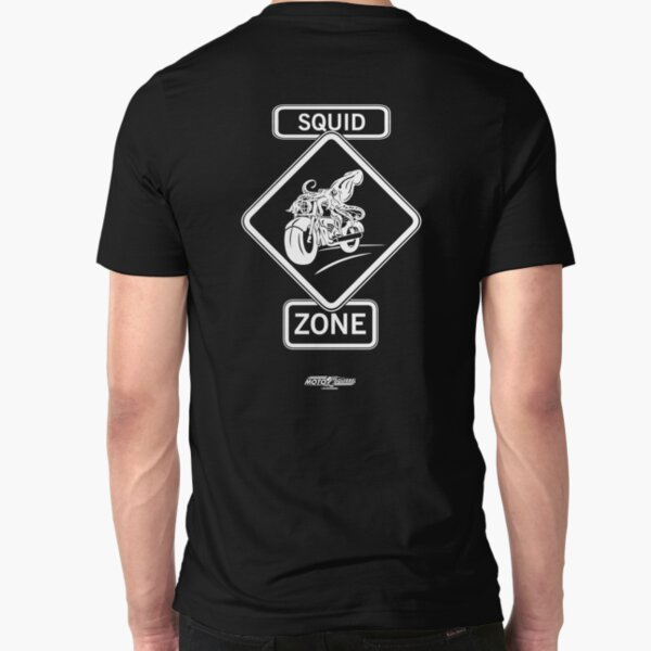 SQUID ZONE  Slim Fit T-Shirt