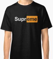 Supreme x Pornhub  Classic T-Shirt