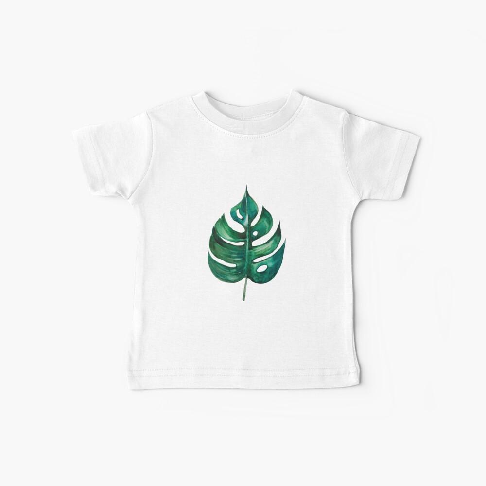 Monstera Banana Palm Leaf Baby T-Shirt