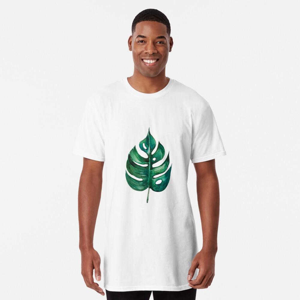 Monstera Bananen Palmblatt Longshirt