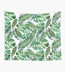 Monstera Banana Palm Leaf Wall Tapestry