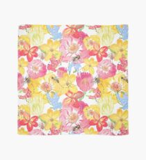 Honey Bee Floral Seamless Pattern Tuch