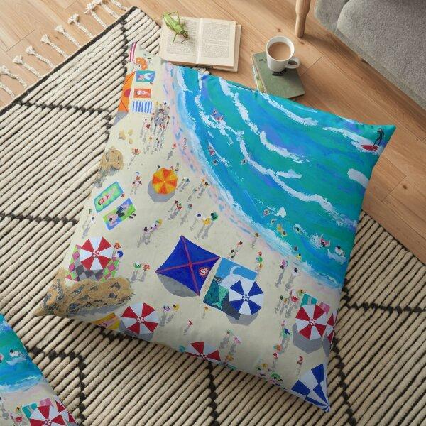 Manyana Beach by Stephanie Fuller Floor Pillow