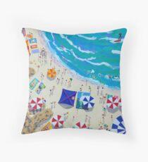 Manyana Beach by Stephanie Burns Floor Pillow