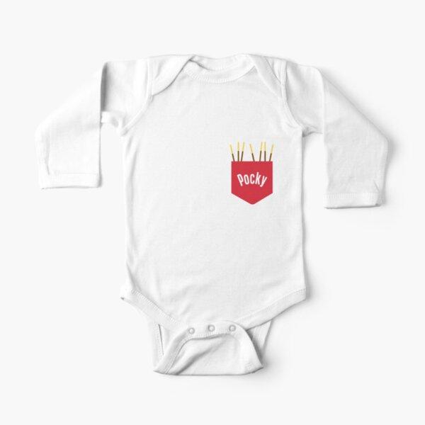 Pocky Pocket (Schokoladenversion) Baby Body Langarm