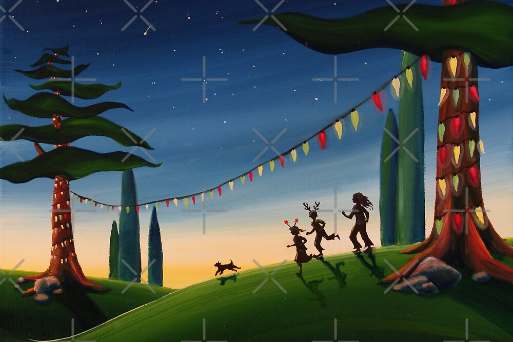 «Una Navidad veraniega» de Sarah  Mac Illustration